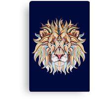 Ethnic Lion Canvas Print