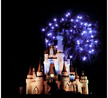 Cinderella's Castle Photographic Print
