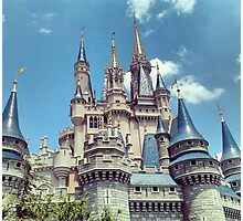 Cinderella's Castle Photographic Print