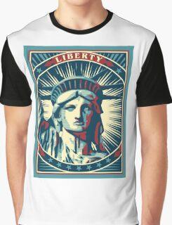 Statue Of Liberty New York USA t-shirt Graphic T-Shirt