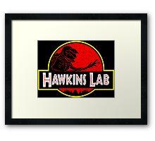 Hawkins Lab Framed Print
