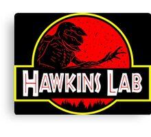 Hawkins Lab Canvas Print