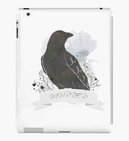 Crow: Murder  iPad Case/Skin