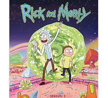 Rick and Morty Season 2 Photographic Print