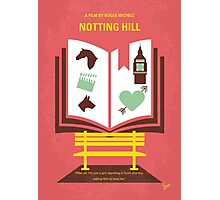 No434 My Notting Hill minimal movie poster Photographic Print