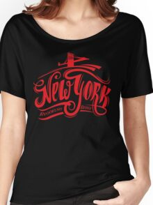 New York Brooklyn Bridge USA t-shirt Women's Relaxed Fit T-Shirt