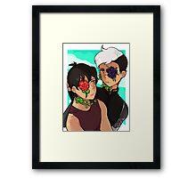 Voltron - Shiro & Keith Framed Print