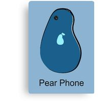 Pear Phone Canvas Print