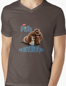 the secret life of pets movie Mens V-Neck T-Shirt