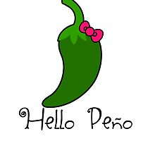 Hello Peno by RdwnggrlDesigns