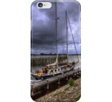 ..dark clouds over Holland ....(see large) iPhone Case/Skin