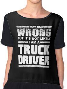 TRUCK DRIVER Chiffon Top