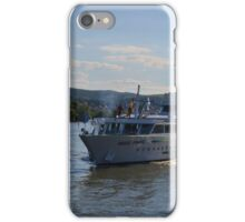 River Cruise Ship Douce France iPhone Case/Skin