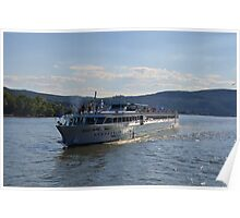 River Cruise Ship Douce France Poster