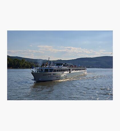 River Cruise Ship Douce France Photographic Print