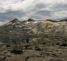 Pyramid Peak from Lake Aloha 2, Pacific Crest Trail, CA 2014 by J.D. Grubb
