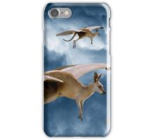 Flying Kangaroos iPhone Case/Skin