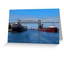 Ojibway, CSS Assinboine, Hon James Oberstar Greeting Card