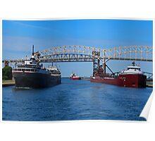 Ojibway, CSS Assinboine, Hon James Oberstar Poster