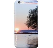 Lake Nipissing Sunset iPhone Case/Skin
