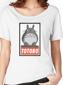 (MANGA) Totoro  Women's Relaxed Fit T-Shirt