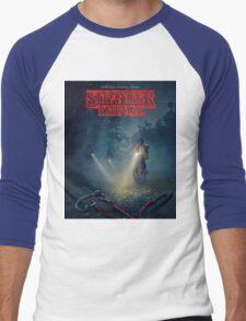 Stranger Things Merch Men's Baseball ¾ T-Shirt
