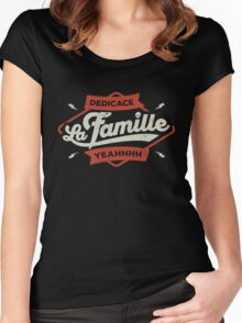 DEDICACE LA FAMILLE Women's Fitted Scoop T-Shirt