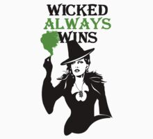 OUAT. Wicked Always Wins. Zelena. One Piece - Short Sleeve