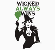 OUAT. Wicked Always Wins. Zelena. Kids Tee