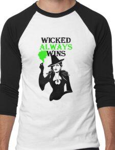 OUAT. Wicked Always Wins. Zelena. Men's Baseball ¾ T-Shirt