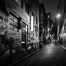 Hosier Laneway  by Christine Wilson