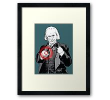 One Point Five Framed Print