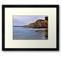 Drakes Beach Framed Print