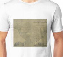 Vintage Map of Washington D.C. (1820) Unisex T-Shirt