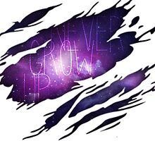 Never Grow Up Galaxy by elemant56