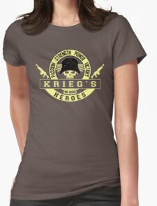 KRIEG'S HEROES - LIMITED EDITION Womens Fitted T-Shirt