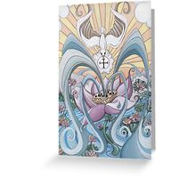 The Ace of Cups Greeting Card