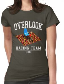 Overlook Hotel Racing Team Womens Fitted T-Shirt