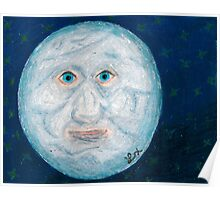 The Alabaster Simpleton (The Moon) Poster