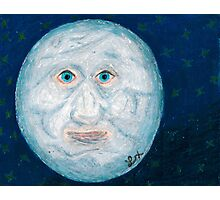 The Alabaster Simpleton (The Moon) Photographic Print