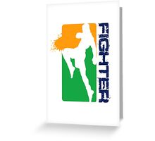 Sporty Leggings Greeting Card