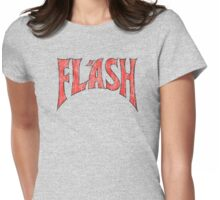 Flash Gordon - Distressed Logo No symbol Womens Fitted T-Shirt