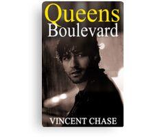 """Queens Boulevard"" Poster Design Canvas Print"
