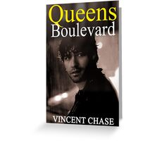 """Queens Boulevard"" Poster Design Greeting Card"