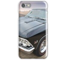 1966 Chevelle SS and Sierra Nevada Mountains iPhone Case/Skin