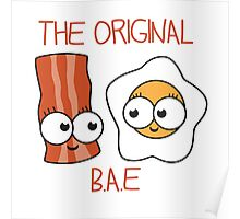 Bacon and Eggs BAE Poster