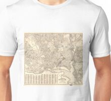 Vintage Map of Washington D.C. (1900) Unisex T-Shirt