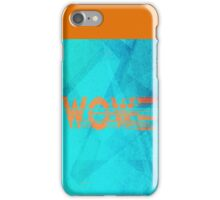 spoiled wooooow iPhone Case/Skin