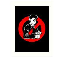 Evil and Greedy Corporation Art Print