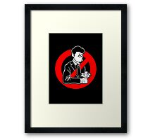 Evil and Greedy Corporation Framed Print